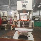 Jh21 máquina aluída da imprensa de perfurador mecânico do frame da série C única com uma potência de 80 toneladas
