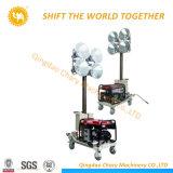4X1000W de Halogenuros Metálicos Mobile Generador Diesel Torre de Luz