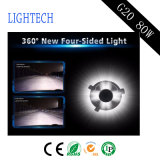 LED 차 환영 문 빛과 자동 빛 (H1 H3 H4 H7 H11 H13)를 가진 가장 새로운 LED 헤드라이트 80W 최고 광도 8000lm