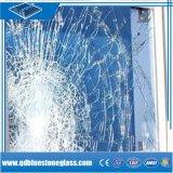 6mm/8mm de sécurité pour la construction en verre trempé feuilleté