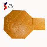 具体的なスタンプ型の革スタンプの床型の木製様式