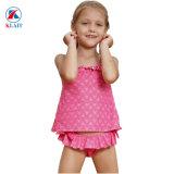 Rosy petites filles tankini deux pièces maillot de bain avec impression