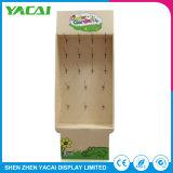 Produtos personalizados em acrílico de papelão exibir um rack de piso suportes5 Monitor de exposições de fábrica