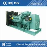 1500KW/1875kVA générateur basse vitesse Power Plant 1000tr/min 50Hz (HG1875)