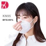 KN95/FFP2 Respirador descartável à descolagem de 5 camadas