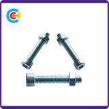 Les écrous hexagonaux en acier au carbone vis à tête cylindrique à six pans creux/Vis