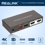 2 interruttore di TUFFO Port del divisore EDID di HDMI 1 in 2 out/1 - 2 divisore di 4K UHD 2160p HDMI