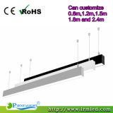 indicatore luminoso lineare del pendente LED di 2FT 4FT 5FT 6FT 8FT per il magazzino del supermercato dell'ufficio