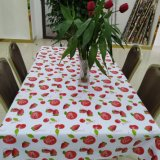 Attrayant atteindre Non-Toxic fraise Tablecover PVC d'impression