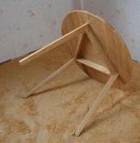 Bois de chêne plein dinant le Tableau de l'ensemble un avec trois chaises (M-X1025)