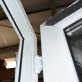 백색 색깔 UPVC 단면도 여닫이 창 문 K02022