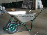 Carrinha galvanizada de venda a quente Wheelbarrow de uso durável (WB6414T)