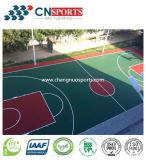 Suelos de la cancha deportiva multiuso Wear-Resistant de Deportes de la superficie del suelo