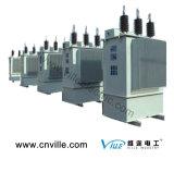 Compensation électrique triphasée extérieure assemblée de condensateur de condensateur de shunt