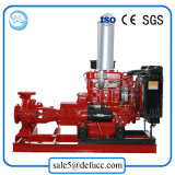 Motopompa antincendi centrifuga del motore diesel di aspirazione di conclusione di serie del Da