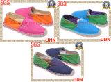 L'espadrille chausse occasionnel, le classique de chaussures d'espadrille (SD6043)