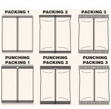 Embaladora horizontal fácil de la empaquetadora de las galletas de la operación