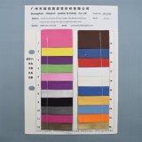 Couro sintético do plutônio do bordado para o empacotamento decorativo da tampa do diário do caderno