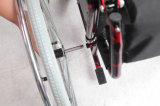 Manuel, pliable en acier et CKD, fauteuil roulant, (YJ-023C)