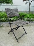Cinco pedazos de silla de plegamiento de la rota + de mesa redonda de 1PCS Covines