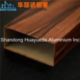 Wooden Grain Aluminum Extrusion Aluminum Profile for Furniture Home Decoration