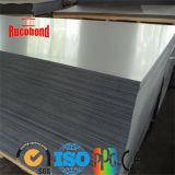 Rucobond PVDF revêtement PE panneau composite aluminium mur