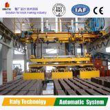 Planta de fabricación automática de ladrillos, apiladora