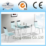 테이블 의자를 위한 Temperede 단단하게 한 유리