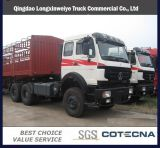 Тележка Tipper сброса Northbenz Beiben 30ton 380HP 6X4