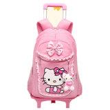 こんにちはキティの小学校の女の子の子供の女の子の子供の袋はトロリー袋(GB#WL201-202-203)を除去できる