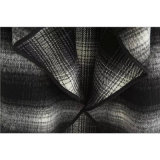 Pano preto e branco da manta da leiteria para a roupa da mulher