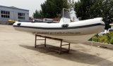 Bateau de pêche gonflable rigide de /Rib de bateau d'Aqualand 16feet 4.7m (RIB470A)