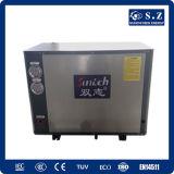 10kw/15kw /20kw/25kwの床/ラジエーターの暖房部屋のEvi地上ソースヒートポンプを使用して低い天候の冬