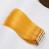 Grau superior 7A Remy Hair tecer, Extensão de pêlos sintéticos ondulação francês trama de cabelo