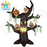 Albero guasto di Halloween del Archway chiaro gonfiabile della zucca