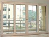 Hot Sale Water-Tight/insonorisées porte coulissante en PVC avec grill pour le résidentiel maison de conception