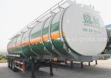 43m3 3 de Oplegger van de Tank van de Olie van de Legering van het Aluminium van de As