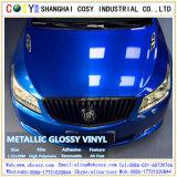 1.52*50m Glanzende/van de Steen de Blauwe VinylSticker van de Omslag van /Car van de Sticker met Vrije Luchtbel