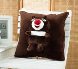 Coral Fleece 3D Animal Cushion / Blanket Animal Throw 3D Blankt Animal Blanket Toy Blanket Toy Cushion Multifunctional Blanket