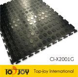 Garaje de PVC negro populares baldosas (CI-X2001G)