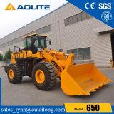 Marca Aolite carregadora de rodas de 5 tonelada de máquinas de construção de fábrica 650 para venda