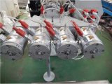 Cadena de producción del tubo del PVC cuatro del plástico