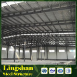 Fábrica da construção de aço da luz da oficina do baixo custo