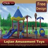 CE magnifique terrain de jeux en plastique de l'École d'amusement des enfants (X1433-6)