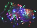 LED RVB de feux de chaîne de riz de Noël