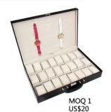스포츠 시계 줄기 와인더 기계적인 시계 부속품 시계 줄 결박 (Ys101)를 위한 가죽 회중시계 딱지 전시 저장 상자