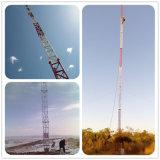 Наиболее востребованных GSM антенны Guyed оцинкованной стали сообщения в корпусе Tower