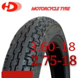 Motorrad-Teile, heißes Verkaufs-Muster des Motorrad-Gummireifen-2.75-18