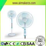 SAA/CB/Ce 16 Zoll-oszillierender Fußboden-persönlicher Untersatz-stehender Hauptventilator