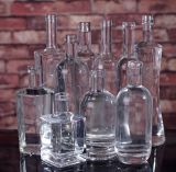 Bottiglia di vetro del liquore su ordine 750ml